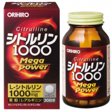 Orihiro Citrulline Mega Power 1000