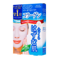 KOSE Clear Turn White Mask (Collagen), 5шт