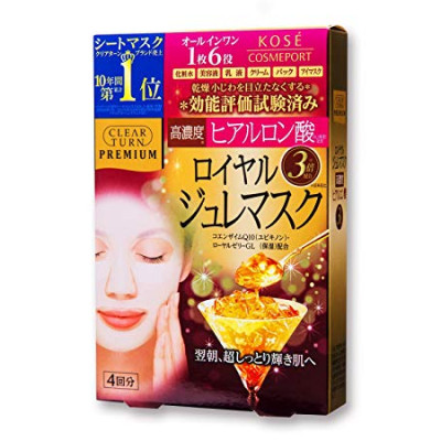 KOSE Clear Turn Premium - Royal Jelly Mask