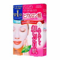 KOSE Clear Turn White Mask Hyaluronic Acid (5шт.)